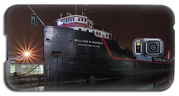 William G Mather At Night  Galaxy S5 Case