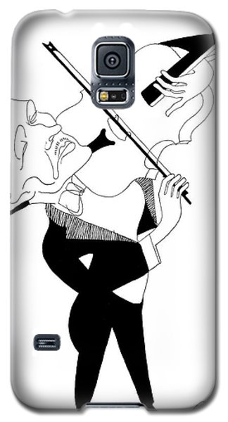 Violin Galaxy S5 Case - William Primrose by Granger