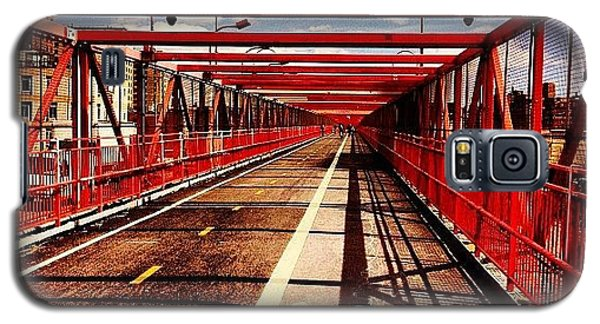Williamsburg Bridge - New York City Galaxy S5 Case by Vivienne Gucwa