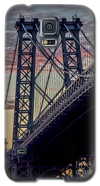 Williamsburg Bridge Structure Galaxy S5 Case