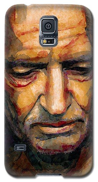 Willie Nelson Portrait 2 Galaxy S5 Case