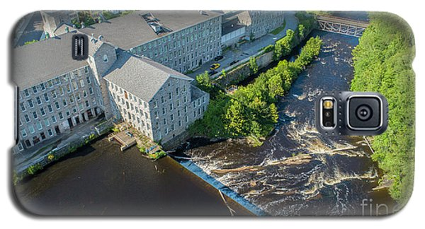 Willimantic River And Mill #2 Galaxy S5 Case