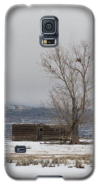 Willow Creek Cabin Galaxy S5 Case