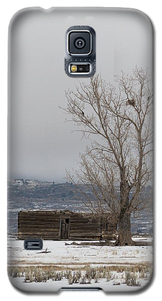 Willow Creek Cabin Galaxy S5 Case