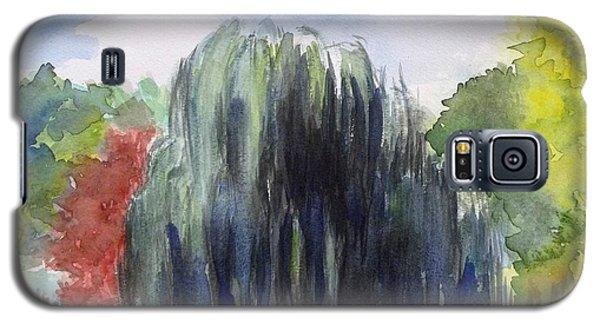 Willow Tree -2  Hidden Lake Gardens -tipton Michigan Galaxy S5 Case by Yoshiko Mishina