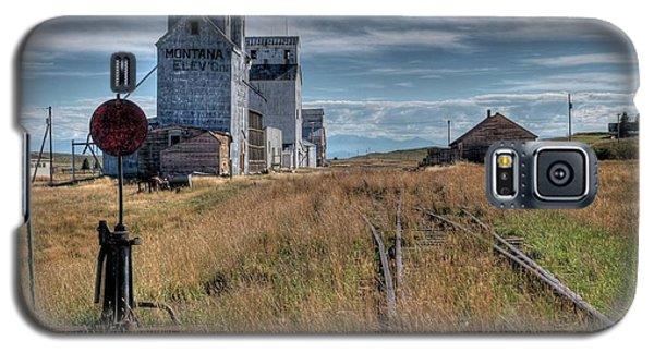 Wilsall Grain Elevators Galaxy S5 Case