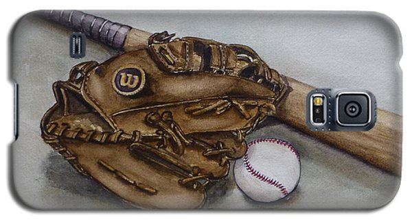 Wilson Baseball Glove And Bat Galaxy S5 Case