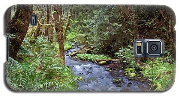 Galaxy S5 Case featuring the photograph Wilson Creek #22 Enhanced by Ben Upham III