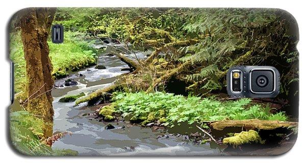 Galaxy S5 Case featuring the photograph Wilson Creek #24 Enhanced by Ben Upham III