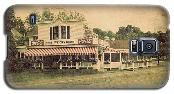 Wilson's Restaurant And Ice Cream Parlor Galaxy S5 Case by Joel Witmeyer