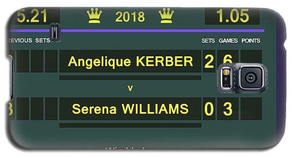 Wimbledon Scoreboard - Customizable - 2017 Muguruza Galaxy S5 Case