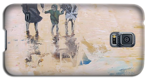Wind And Kids Galaxy S5 Case