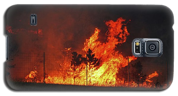 Wildfire Flames Galaxy S5 Case