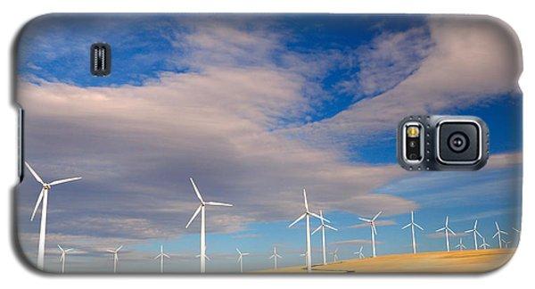 Wind Farm Against The Sky Galaxy S5 Case