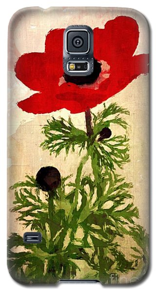 Wind Flower Galaxy S5 Case by Alexis Rotella