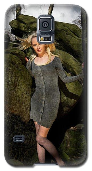 Wind In Her Hair Galaxy S5 Case