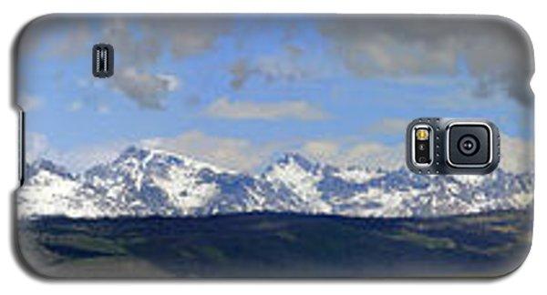 Dm9504-wind River Range Panorama  Galaxy S5 Case