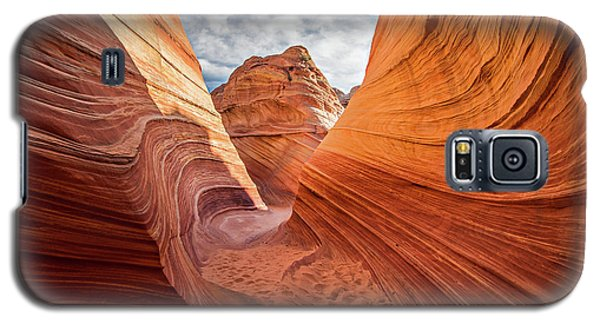 Winding Stripes Of Sandstone Galaxy S5 Case