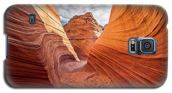 Winding Stripes Of Sandstone Galaxy S5 Case