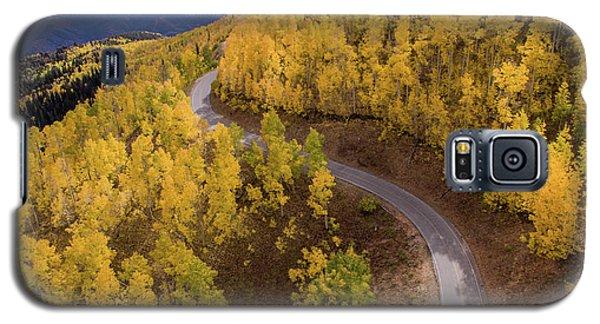 Winding Through Fall Galaxy S5 Case
