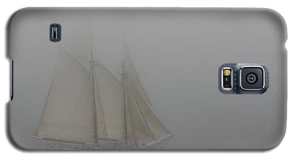 Windjammer In Fog Galaxy S5 Case