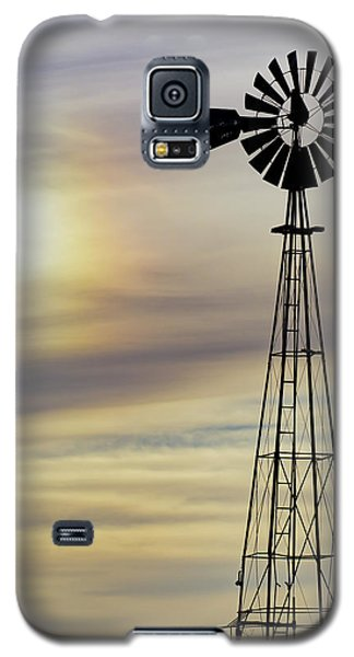 Windmill And Sun Dog Galaxy S5 Case
