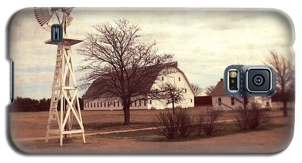 Galaxy S5 Case featuring the photograph Windmill At Cooper Barn by Julie Hamilton