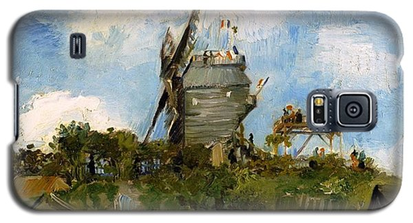Windmill In Farm Galaxy S5 Case by Sumit Mehndiratta