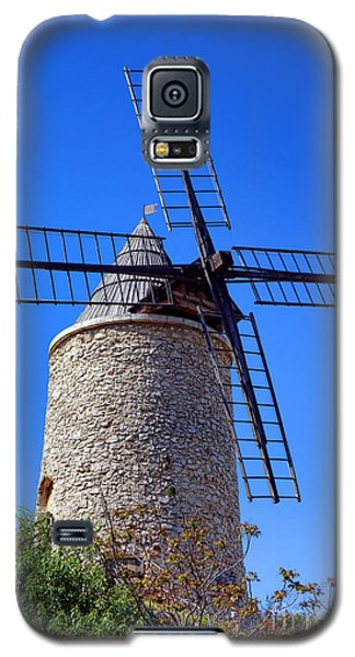 Galaxy S5 Case featuring the photograph Windmill In Provence by Olivier Le Queinec