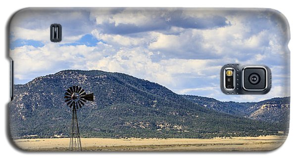 Windmill New Mexico Galaxy S5 Case