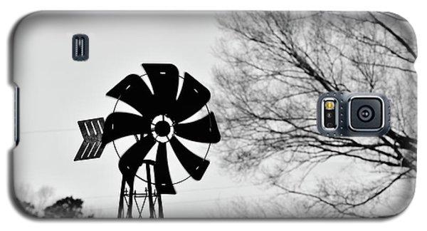 Windmill On The Farm Galaxy S5 Case