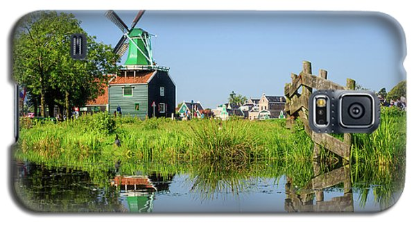 Windmill Reflection Galaxy S5 Case