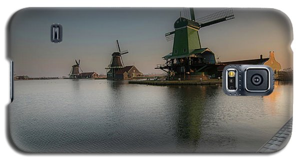 Windmill Sunrise Galaxy S5 Case