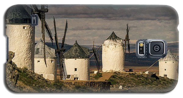 Galaxy S5 Case featuring the photograph Windmills Of La Mancha by Heiko Koehrer-Wagner