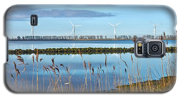 Windmills On A Windless Morning Galaxy S5 Case by Frans Blok