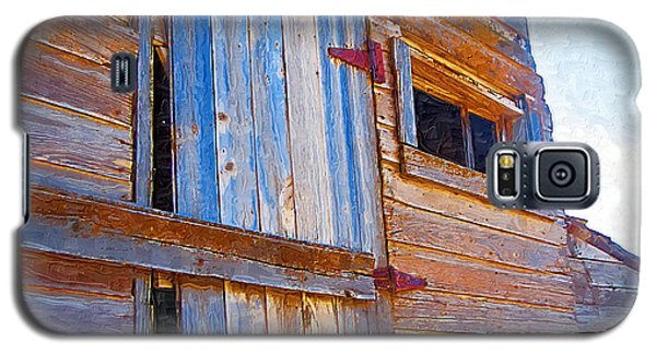 Galaxy S5 Case featuring the photograph Window 3 by Susan Kinney