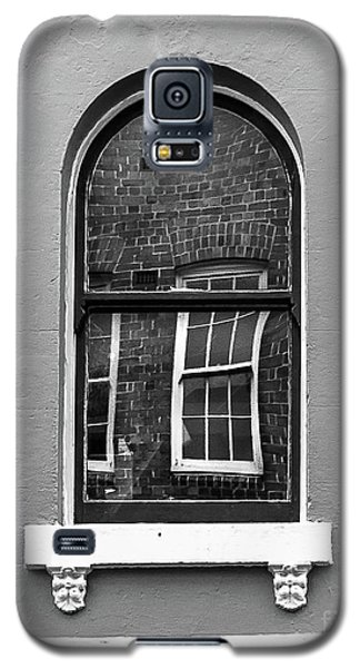 Galaxy S5 Case featuring the photograph Window And Window by Perry Webster