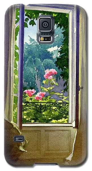 Window At Clermont Galaxy S5 Case