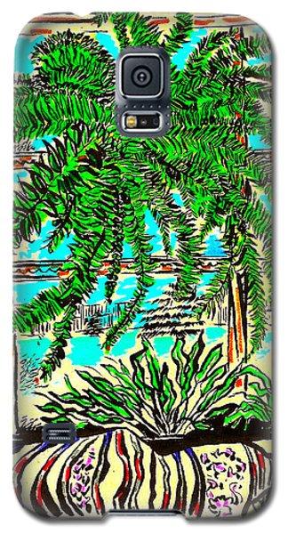 Window Loving Fern Galaxy S5 Case