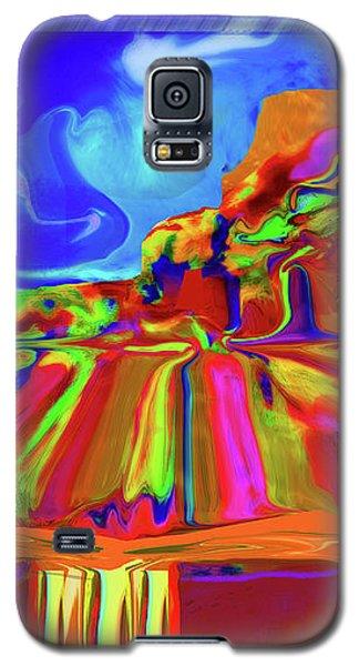 Window On Santa Fe No.3 Galaxy S5 Case