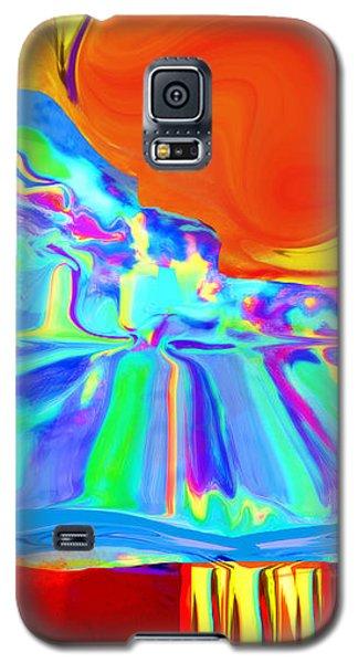 Window On Santa Fe No.4 Galaxy S5 Case