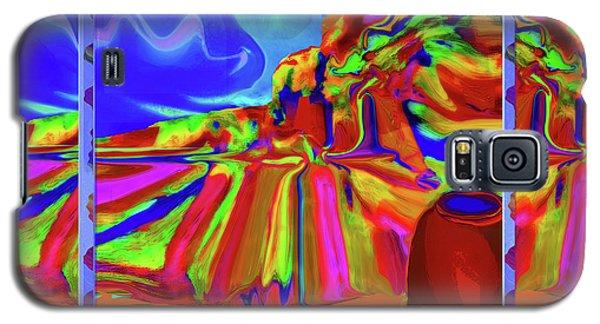 Window On Santa Fe Galaxy S5 Case