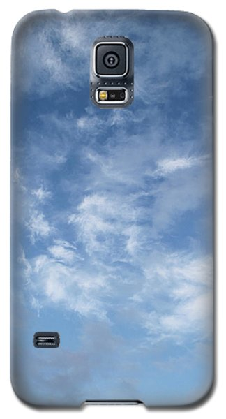 Galaxy S5 Case featuring the photograph Window On The Sky In Israel During The Winter by Yoel Koskas