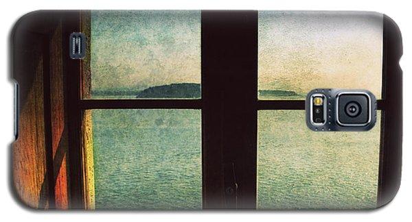 Window Overlooking The Sea Galaxy S5 Case