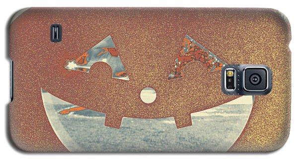 Window Pumpkin #1 Galaxy S5 Case