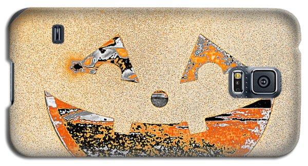 Window Pumpkin #3 Galaxy S5 Case