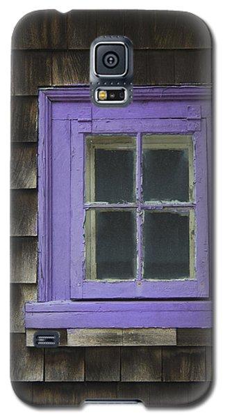 Purple Window - Window Series 04 Galaxy S5 Case