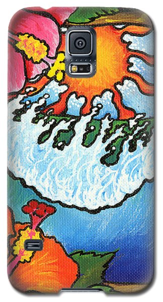 Window To The Tropics Galaxy S5 Case