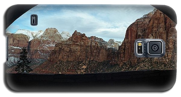 Window To Zion Galaxy S5 Case