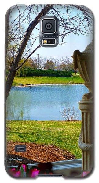 Window View Pond Galaxy S5 Case
